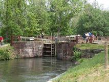 C&O Canal Maryland Lock Royalty Free Stock Photo