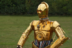 C3PO royalty free stock photography