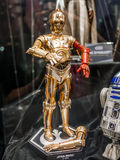 C3PO. Star Wars robot C3PO  in Ani-Com & Games Hong Kong Stock Images