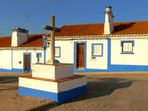 c-portugisgata arkivbilder