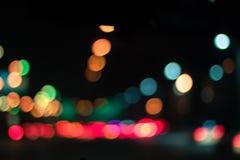 C przy noc Fotografia Stock