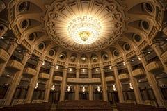 C a ROSETTI Hall dans le palais du Parlement roumain photo stock