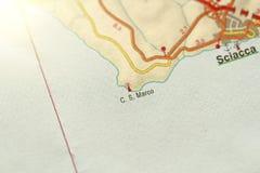 C S marconi Wyspa Sicily, Włochy fotografia stock