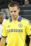 César Azpilicueta FC Schalke v FC Chelsea 8eme Final Champion League Royalty Free Stock Image