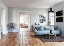 The Modern interior Stock Photography