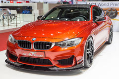 C.A. 2015 Schnitzer BMW M4 (F82) Images stock