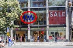 C&A sklepu powierzchowności znak Zdjęcia Stock