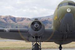 C-47 Skytrain di Douglas Immagine Stock