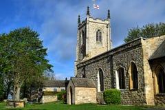 C St Mary церков e, Kippax, Йоркшира, Англии, Великобритании стоковое фото rf