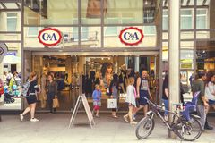 C&A store exterior Royalty Free Stock Photography