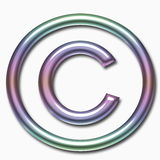 C symbol Royalty Free Stock Photography