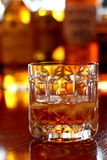 c szkła whisky Obrazy Stock