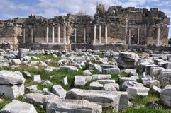 Côté antique, Turquie photographie stock libre de droits