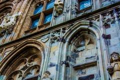 Côté d'une cathédrale Photographie stock