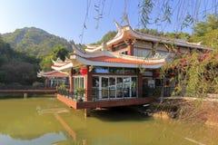 Côté de bâtiment de restaurant de weiyou (ami de goût) Photographie stock libre de droits