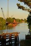 Côté de bayou Photos stock