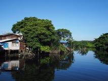 Côté de canal de Somrong Photo libre de droits