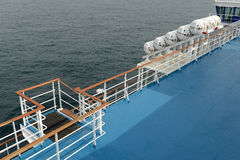 Côté de ferry-boat Photographie stock libre de droits