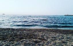 Côté de plage Image libre de droits