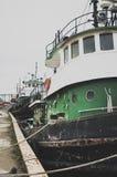 Côté de port Photographie stock