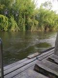 Côté de rivière Photo libre de droits
