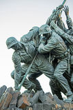 Côté de soldats de drapeau d'Iwogima Image libre de droits