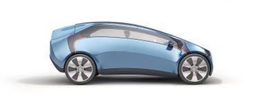 Côté de vue de voiture de sport de concept Images libres de droits