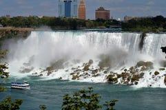Côté des Etats-Unis de chutes du Niagara Images stock
