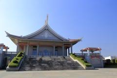 Côté du bâtiment de la salle commémorative de jiageng de chen photographie stock