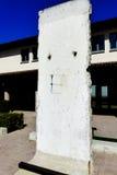 Côté est de Berlin Wall Images libres de droits
