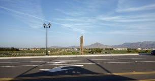 Côté nord de Camarillo, CA Image libre de droits