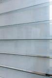 Côtés à claire-voie en verre Image stock