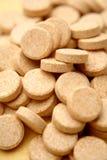 c tablets витамин Стоковое Изображение