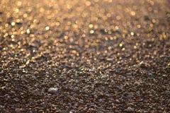 Côte au coucher du soleil Photo libre de droits