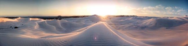 Côte australienne - au-dessus et au-dessous de Image libre de droits