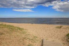 Côte baltique en été Images stock