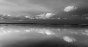 Côte centrale de longue de jetée réservation de lais, NSW Image libre de droits