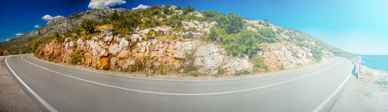 Côte croate Photo libre de droits
