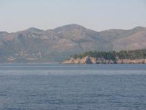 Côte croate Images libres de droits