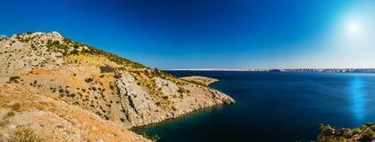 Côte croate Photos libres de droits