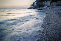 Côte Croatie Image stock