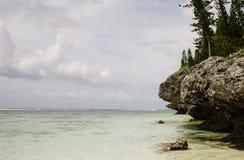 Côte d'île Images stock
