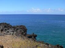 Côte d'île de Pâques Image stock