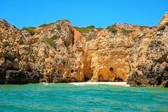Côte d'Algarve Photo stock