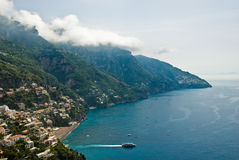 Côte d'Amalfi, Italie Photo stock