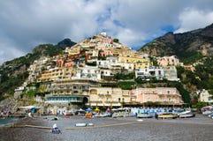 Côte d'Amalfi, Positano Photographie stock libre de droits