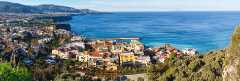 Côte d'Amalfi, Sorrente, Italie Photo stock