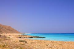 Côte d'Aral Image stock