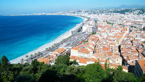 Côte d'Azur in Nice Stock Photos