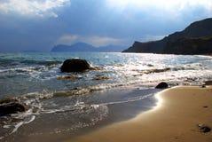 Côte d'océan Image libre de droits